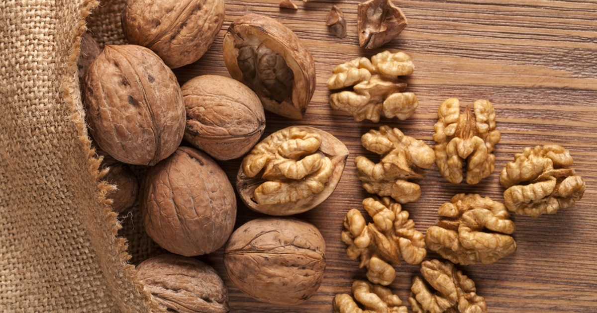 Walnuts are high in amino acids